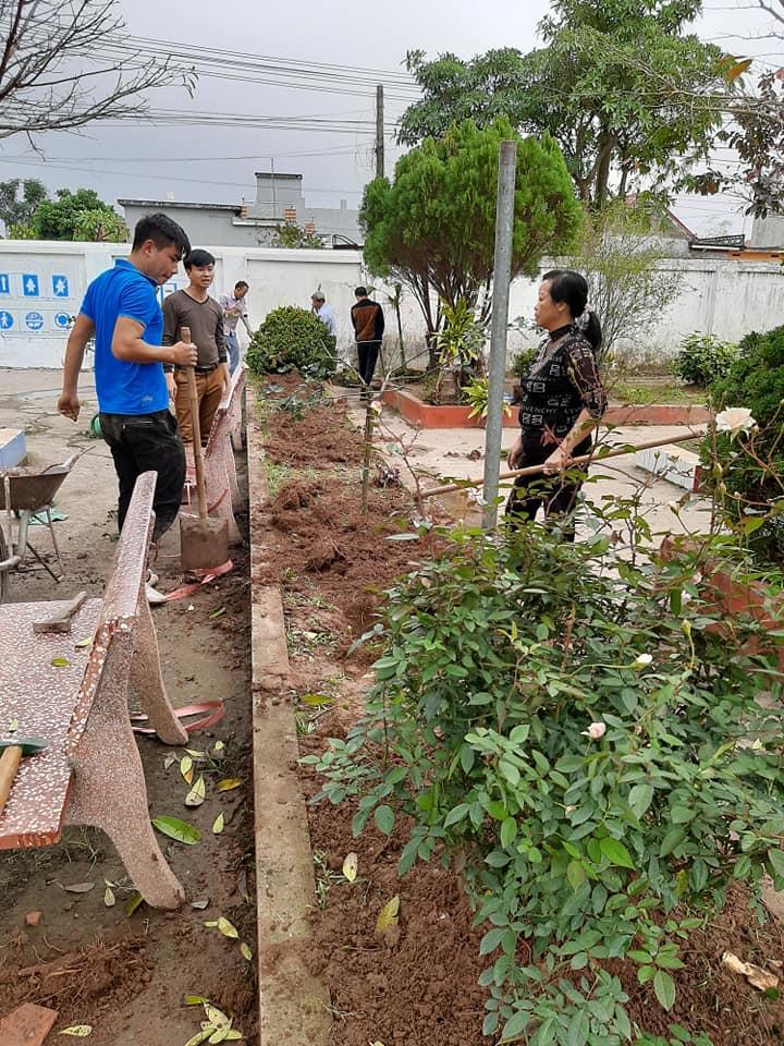 Trường Tiểu học Đồng Sơn tổ chức Tết trồng cây xuân Canh Tý  năm 2020